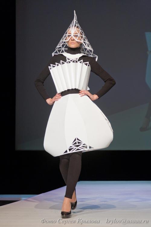 Как сделать платье из ватмана